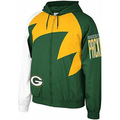 Mitchell & Ness NFL Shark Tooth Jacket_Green Bay Packers (L)