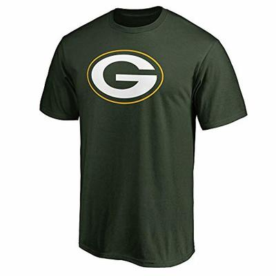 NFL Boys Youth 8-20 Team Color Primary Logo T-Shirt (Green Bay Packers, Youth Medium 10-12)