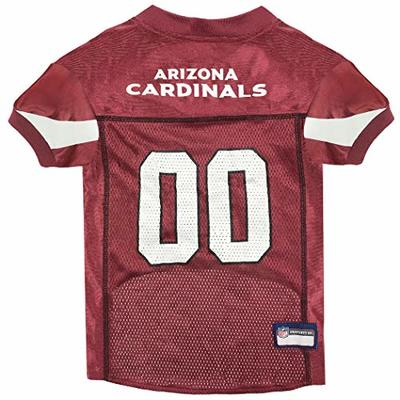 NFL ARIZONA CARDINALS DOG Jersey, X-Small Shirt Apparel Jersey Cute Outfit for DOGS or CATS & Small Animals
