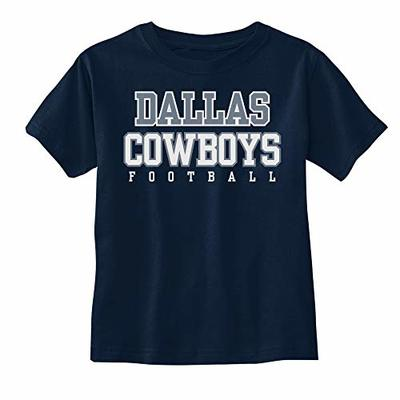 NFL Dallas Cowboys Infant Practice Tee, Navy, 9M