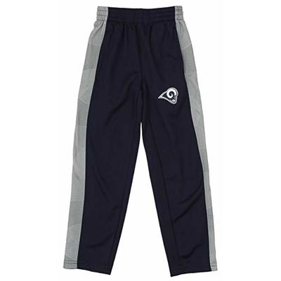 Outerstuff NFL Youth Boys (4-18) Classic Side Stripe Team Color Fleece Pant, Los Angeles Rams XX-Large (18)