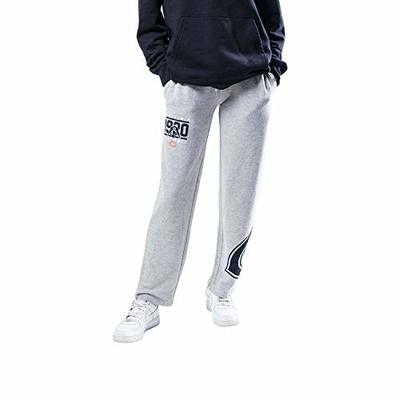 Ultra Game NFL Chicago Bears Womenss Jogger Pants Punt Brushed Hacci Sweatpants, Gray, X-Large