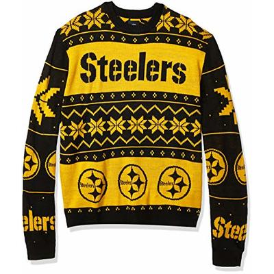 NFL Pittsburgh Steelers Mens 2019 Ugly Sweater, Team Color, XX-Large